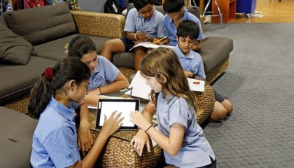 How wireless encourages collaborative learning in schools